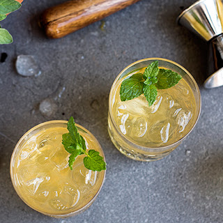 A Summery Bourbon Cocktail