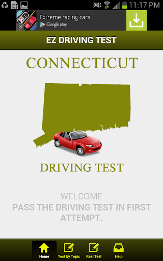 Connecticut Driving Test