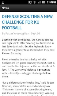 The University Daily Kansan - screenshot thumbnail