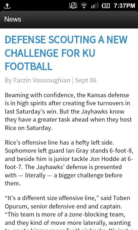 The University Daily Kansan - screenshot