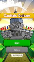 Screenshot of Capitals Quizzer