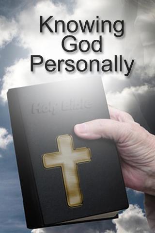 【免費書籍App】Knowing God Personally-APP點子
