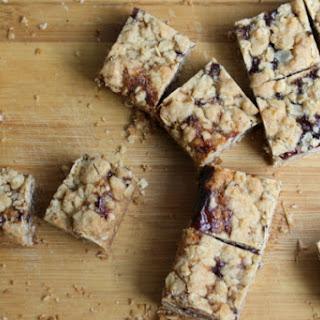 Raspberry Crumb Squares