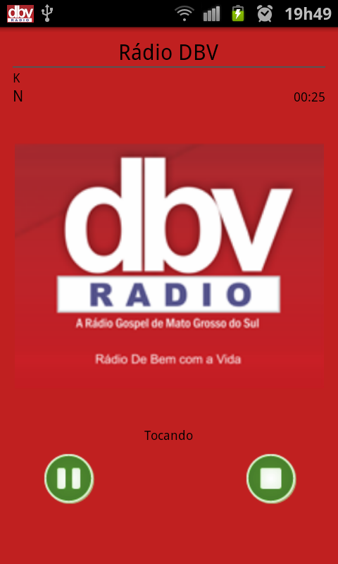 Rádio DBV - screenshot