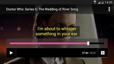 BBC Media Player Screenshot 2