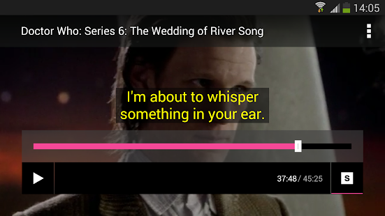 BBC Media Player- screenshot thumbnail