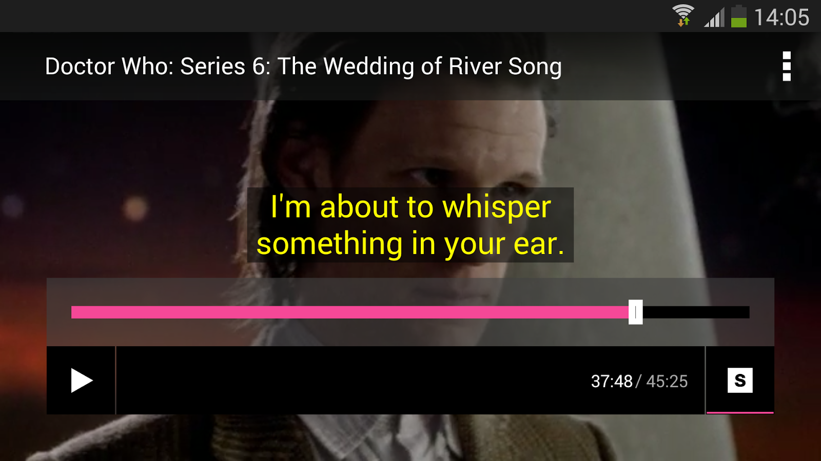 BBC Media Player- screenshot