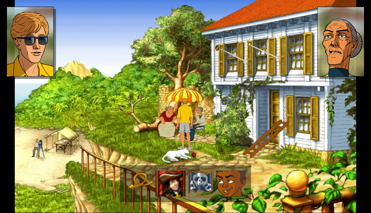Broken Sword II Smoking Mirror - screenshot