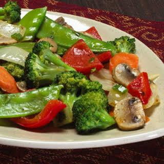 Asian-style Veggie Toss.