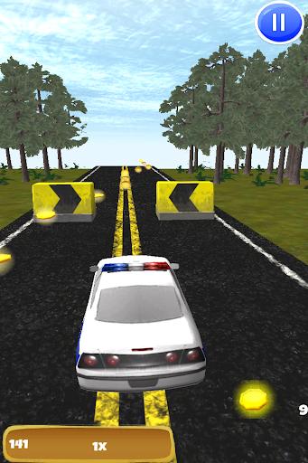 警察追逐3D:无尽的高速截击