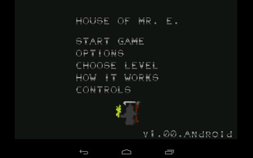 House of Mr. E.