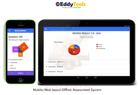 Eddytools Assessment System- screenshot thumbnail