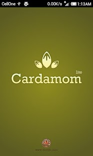 Cardamom : Send vCards via SMS- screenshot thumbnail