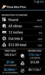 Pizza Slice Price- screenshot thumbnail