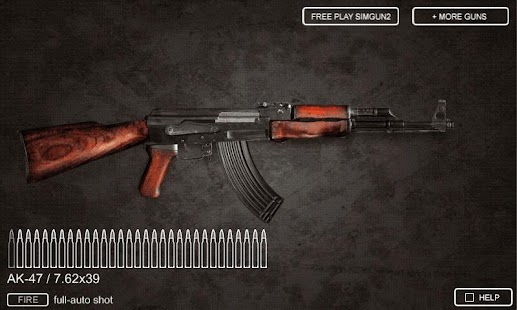 Sim Gun AK47