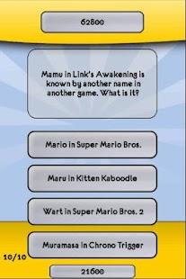 Legend of Zelda Trivia Quiz