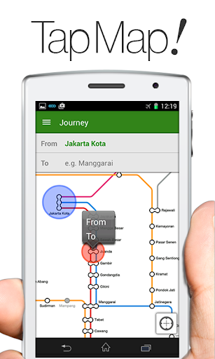 NAVITIME Transit - 印尼雅加達