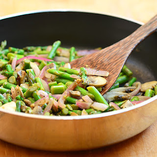 Asparagus Mushrooms Onion Saute Recipes.