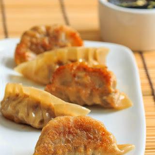 Pan-Fried Pork Dumplings.