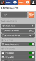 Screenshot of Verifica RCA >> AutoMemo