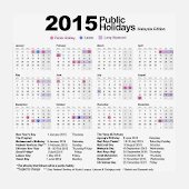 Kalender Cuti 2015