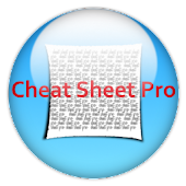 cheat sheet Pro (crib)