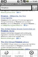 Screenshot of Web Reloader