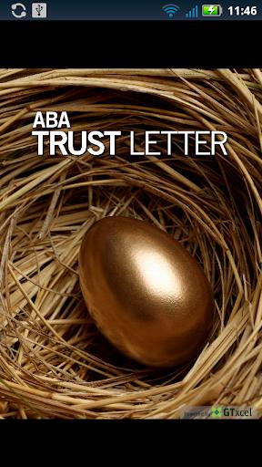 ABA Trust Letter