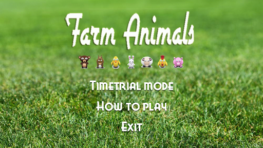Free Farm Animals Jewel
