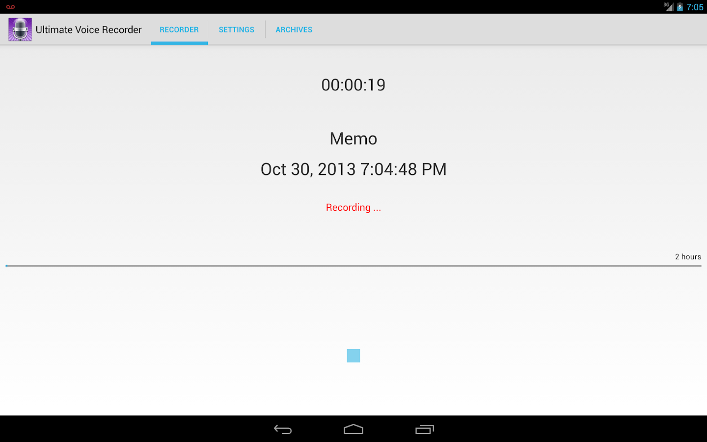 Ultimate Voice Recorder- screenshot