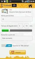 Screenshot of AppTUSSAM