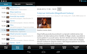 7 Planet Televizija App screenshot