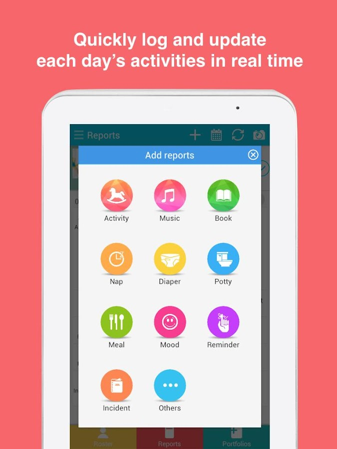 Learning Genie for Childcare- screenshot