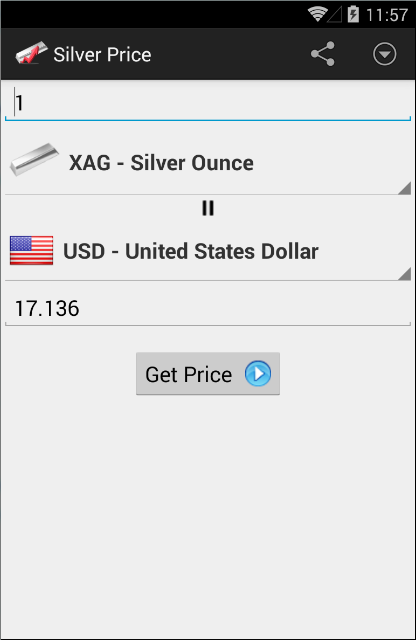 Silver Price- screenshot