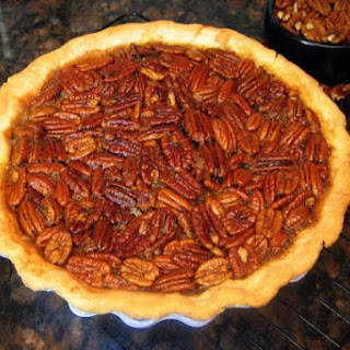 Maple Pecan Pie with Easy Pie Pastry