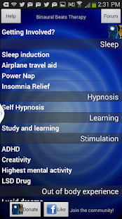 Binaural Beats Therapy - beta - screenshot thumbnail