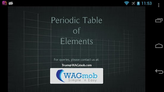 Periodic Table of Elements- screenshot thumbnail