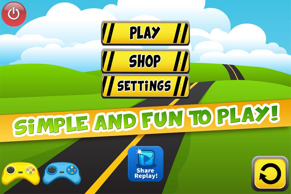 cool turbo fun kids car game screenshot