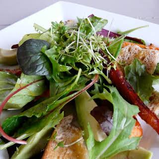 Carrot Avocado Salad with Citrus Vinaigrette.