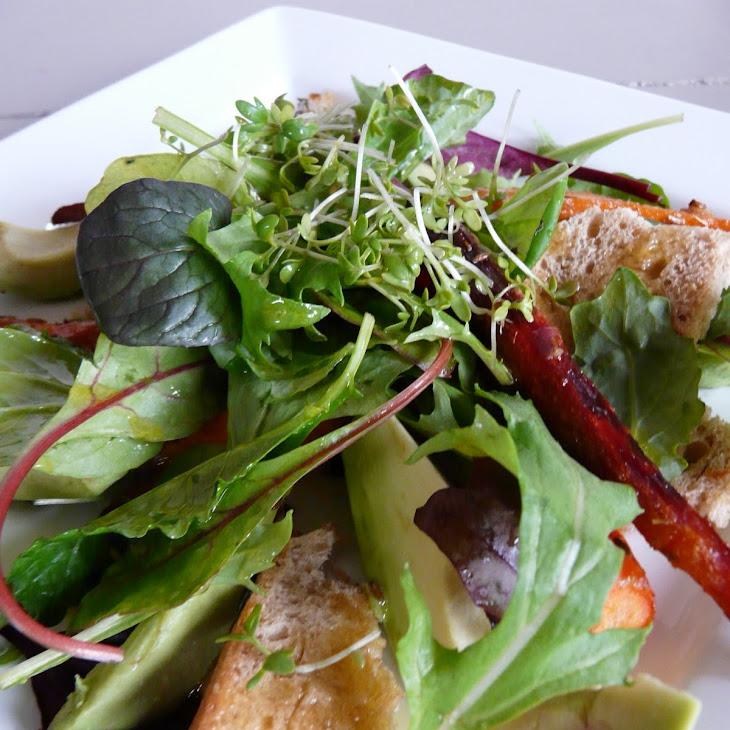 Carrot Avocado Salad with Citrus Vinaigrette Recipe