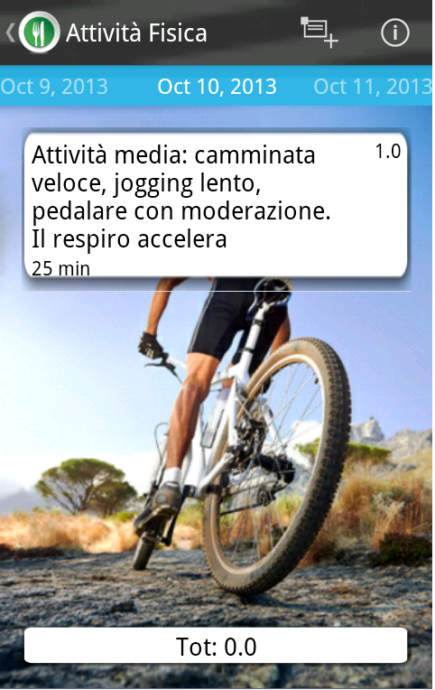 Diario Dieta Punti - screenshot
