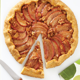 Apple-Walnut-Ginger Galette