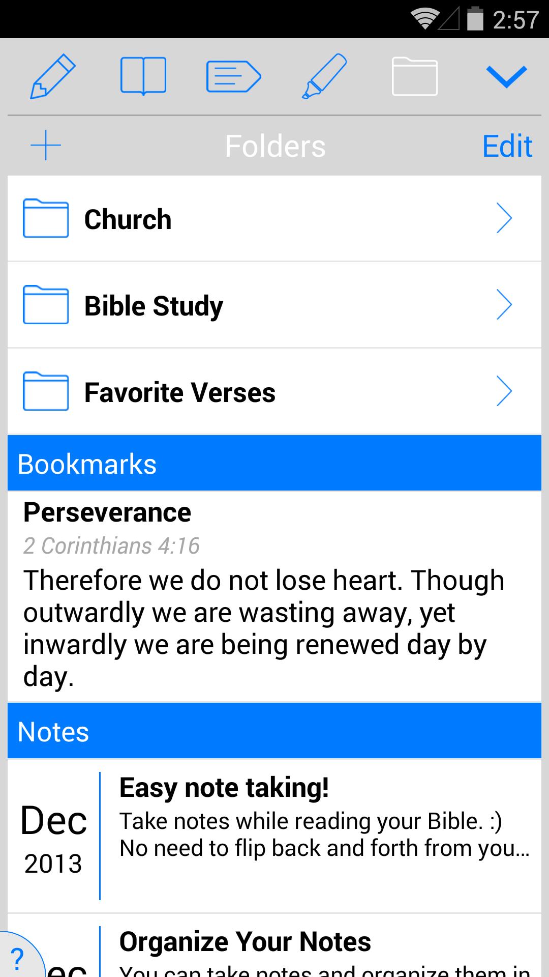 NKJV Bible screenshot #4