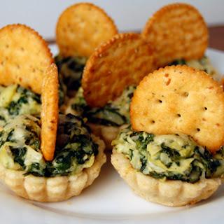 Ritzy Spinach Artichoke Tartlets