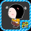 필링 옥철이 스티커팩 (카카오톡, 라인 스티커) icon