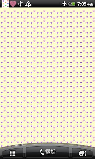 小さいハートの 壁紙 無料版 Free フリー ミニ