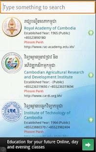 University in Cambodia