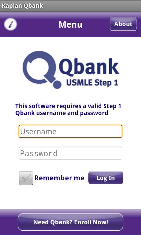 Kaplan Qbank - screenshot