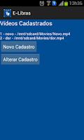 Screenshot of E-Libras