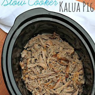 Slow Cooker Kalua Pig.